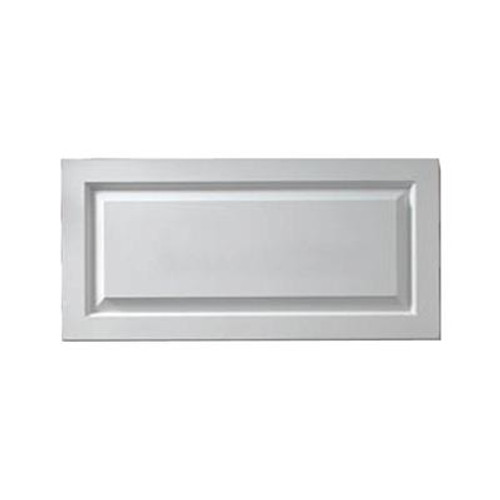 1-1/8 Inch x 12 Inch x 36 Inch Window Raised Panel Smooth Shutter