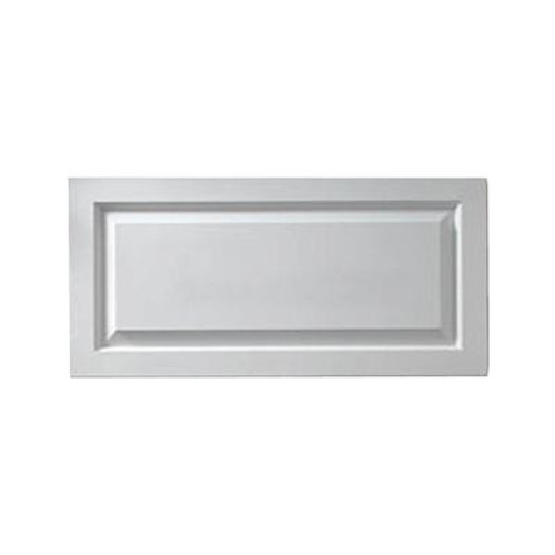 1-1/8 Inch x 18 Inch x 38 Inch Window Raised Panel Adjustable Smooth Shutter