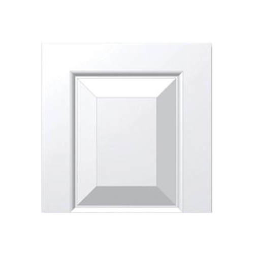 12 Inch x 12 Inch x 1-1/4 Inch Raised Panel Transom Tops Tran Accessory Smooth Shutter