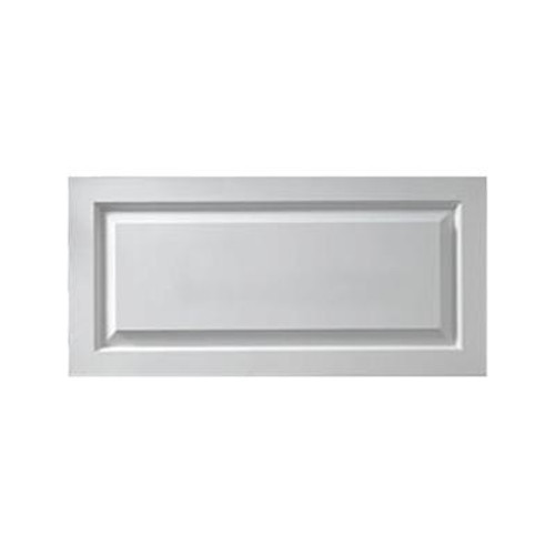 1-1/8 Inch x 13 Inch x 32 Inch Window Raised Panel Smooth Shutter