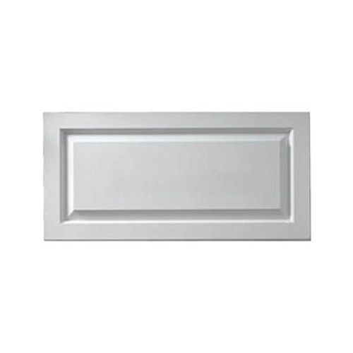 1-1/8 Inch x 21 Inch x 32 Inch Window Raised Panel Smooth Shutter