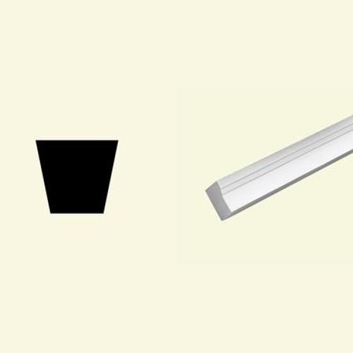 1-1/4 Inch x 2 Inch x 96 Inch Primed Polyurethane Brickmould