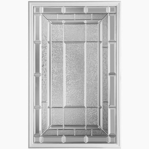 22 In. x 36 In. Sequence Nickel Glass Insert