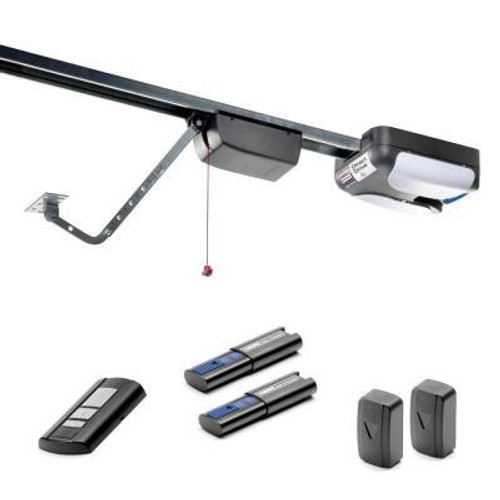 550 3/4 HP Garage Door Opener (310MHZ) with Rails that Fit Garage Doors 7 To 8 Feet High