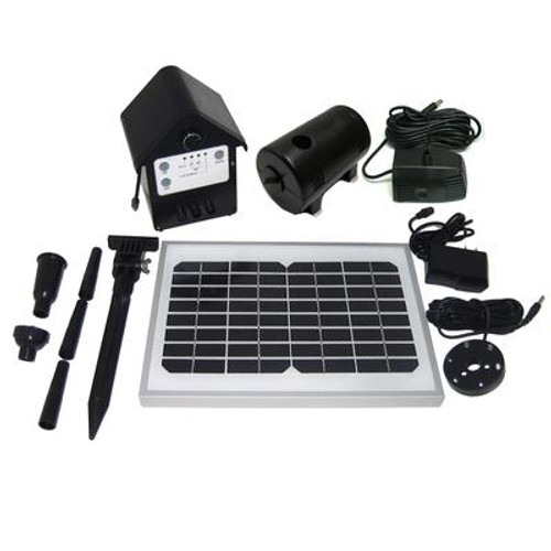 135 GPH Solar Hybrid Fountain / Pond Pump
