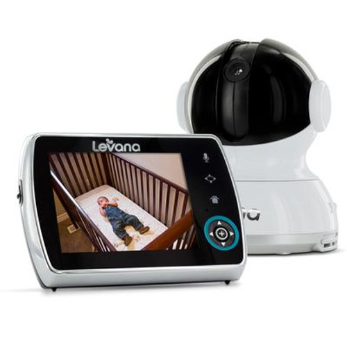 Keera 3.5 inch. Pan/Tilt/Zoom Video Baby Monitor  with SD Photo and Video Capture