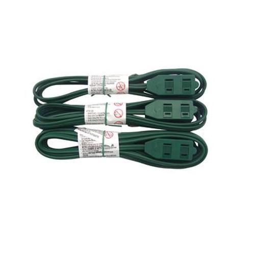 3pk indoor light-duty extension cords
