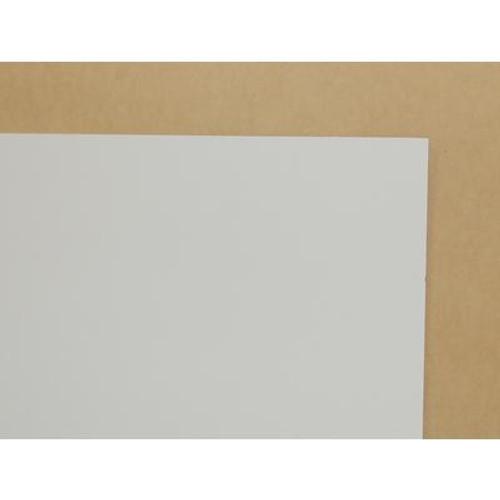 1/8 Inch  2 Feet x 4 Feet White Hardboard Handy Panel