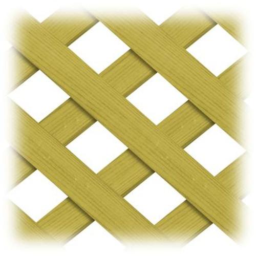 Treated Wood 4x8 Regular Lattice