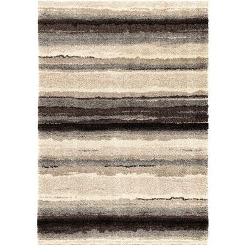 2 Feet 6 Inch x 3 Feet 9 Inch Sundown Area Rug Pewter