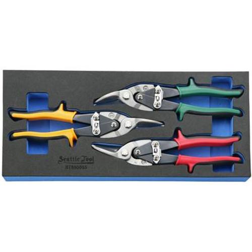 Aviation Snip Set - 3 Pieces