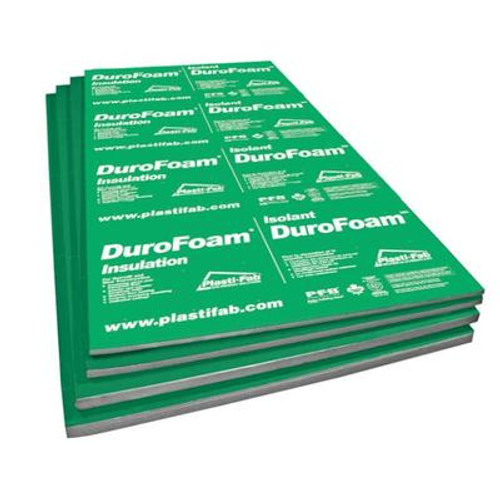 DuroFoam EPS Rigid Insulation 96Inch X 48Inch X 1Inch