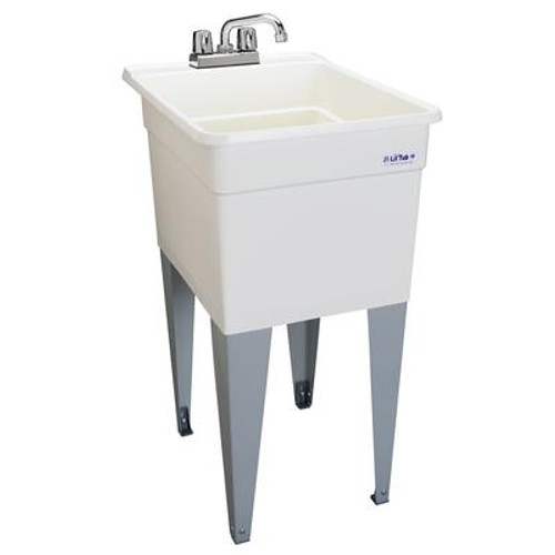 LilTub Laundry Tub Single 18 In. wide