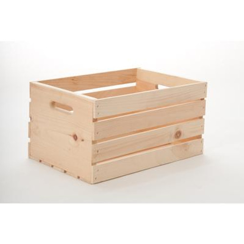 18 Inch Wood Crate