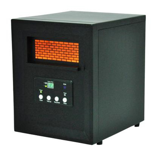 4 Element Medium Size Room Infrared Heater w/Remote