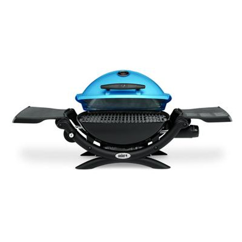 Q 1200 Gas Grill LP Blue