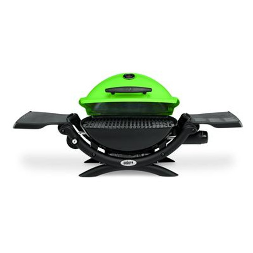 Q 1200 Gas Grill LP Green