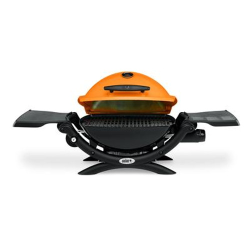 Q 1200 Gas Grill LP Orange