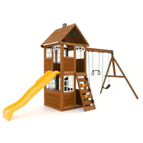 Cedar Summit Willowbrook Wooden Play Set