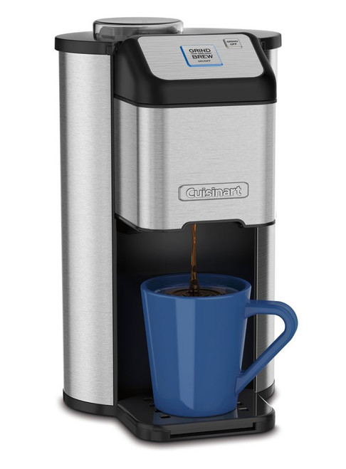 Single Cup Grind & Brew Coffeemaker