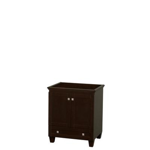 Acclaim 30 In. Single Bathroom Vanity in Espresso; No Top; No Sink; No Mirror