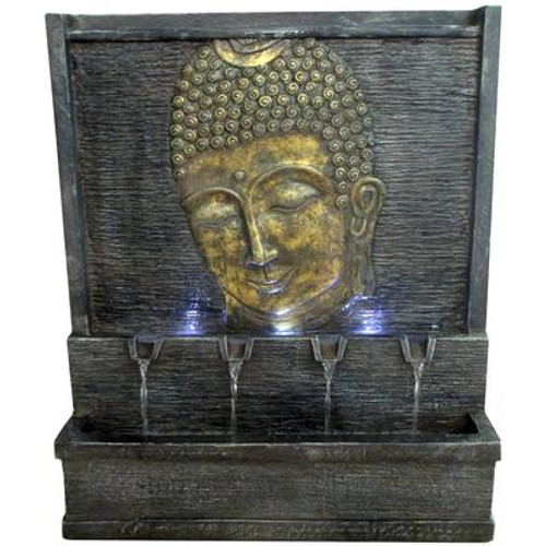 28 Inch Buddha Fountain