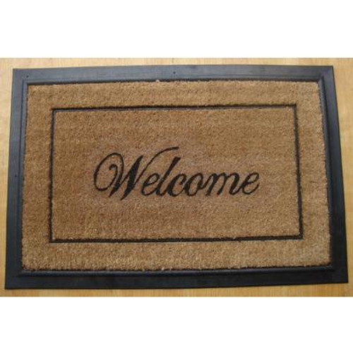 24x36 HDC Welcome Coir Mat