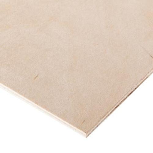 1/4 inch x 2 Feet x 4 Feet Birch Plywood Handy Panel