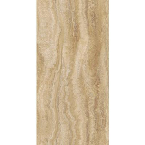 Allure Locking 12 in. x 23.82 in. Travertine Ivory Vinyl Tile Flooring (19.8 sq. ft./case)