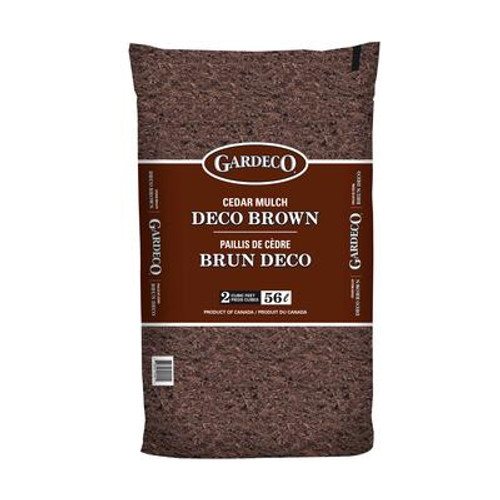 Gardeco Brown Cedar Mulch - 2 cft