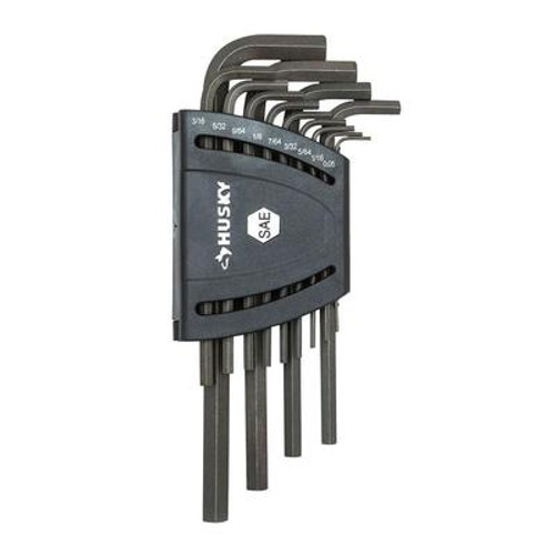 SAE Long-Arm Hex Key Set (13-Piece)