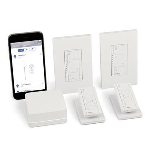 Caséta Wireless Smart Lighting In-Wall Dimmer Kit; Homekit-Enabled