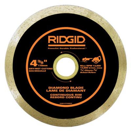 4-3/8 Inch Continuous Rim Diamond Blade
