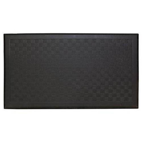 20 Inch x36 Inch  Comfort Bevelled Mat Black