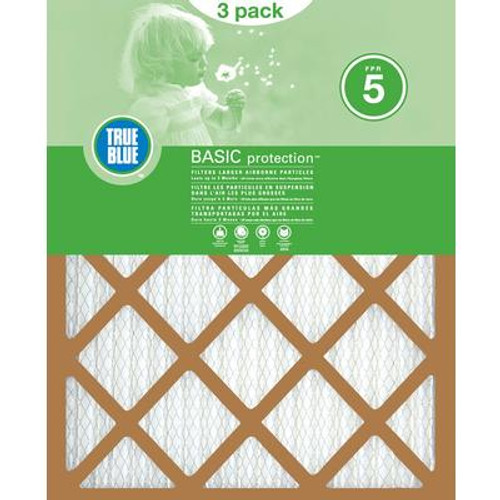 20x25x1 Basic 3Pk of Air Filters
