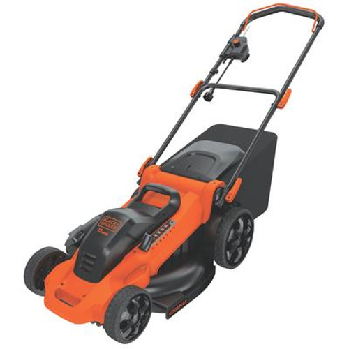 20 Inch. 13-Amp Corded Electric Mower
