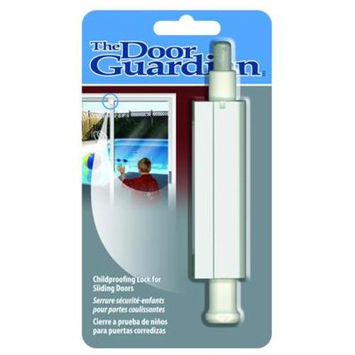 Door Guardian Security Latch-Strikeplate Brass