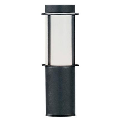 Sail Outdoor Wall Light 1l; Anthracite Finish; Opal Frosted Plastic Shade