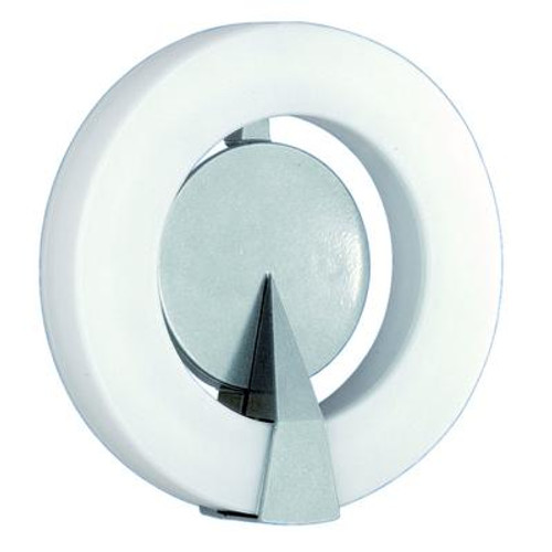 Roi Outdoor Wall Light 1l; Silver Finish; Opal Plastic Shade