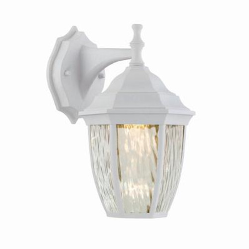 Outdoor White LED Wall Lantern