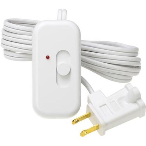 Lutron Credenza 300-Watt Plug-In Lamp Dimmer; White
