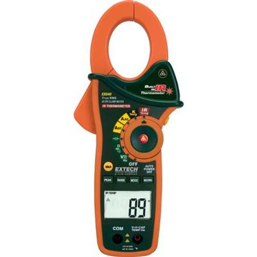 1000A AC/DC True RMS Clamp/DMM + IR Thermometer