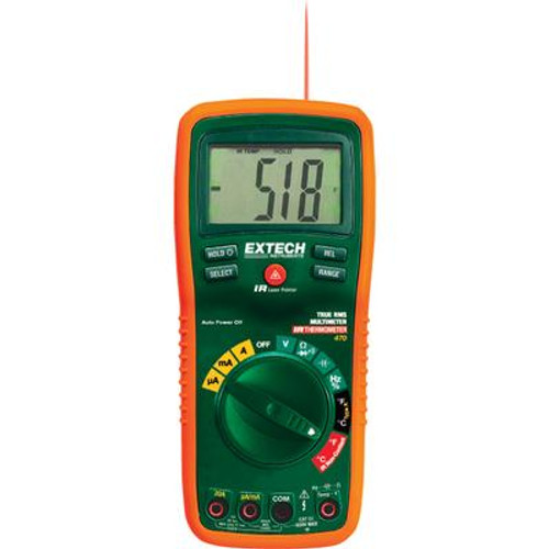 12 Function True RMS Professional MultiMeter + InfraRed Thermometer
