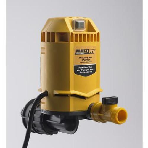 MultiFit Wet/Dry Vacuum Pump
