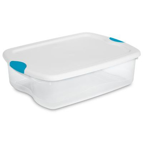 33 Litre Latch Box - White