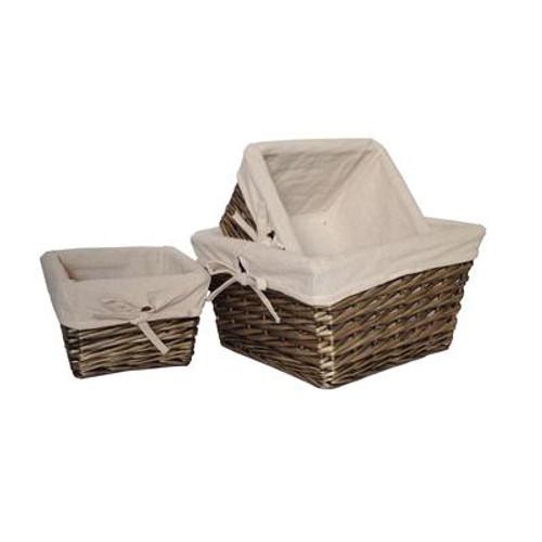 3-Piece Willow Baskets