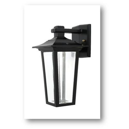 Jazz 7 Watt Integrated LED Cast Aluminum Wall Light Black.
