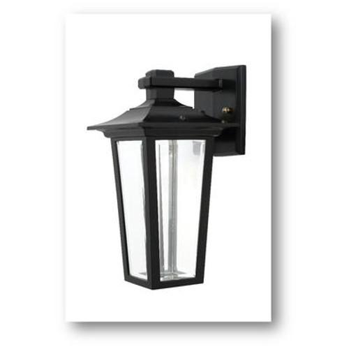 Jazz 7 Watt Integrated LED Cast Aluminum Wall Light Black.