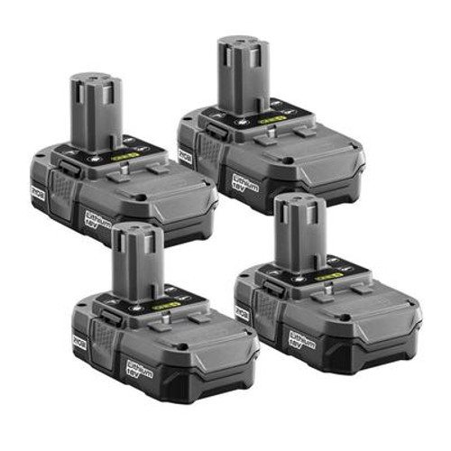 18-Volt ONE+ Compact Lithium-Ion Battery (4-pack)