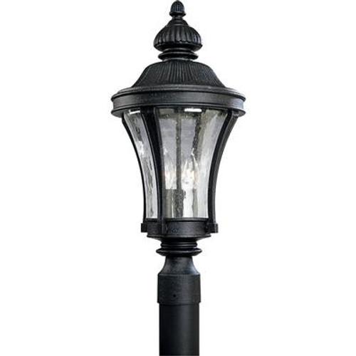 Nottington Collection Gilded Iron 3-light Post Lantern